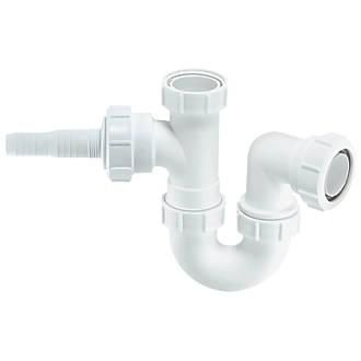 Mcalpine Appliance Trap White 40mm Traps Screwfix Com