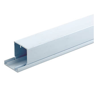 Tower Maxi Trunking 50mm X 50mm X 2m Pack Of 4 Maxi Trunking Lengths Screwfix Com