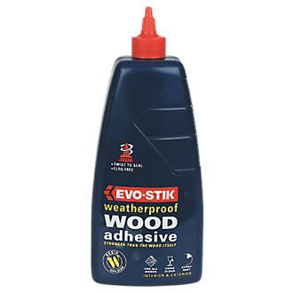 evo stik wood adhesive exterior 1ltr wood glues screwfix com