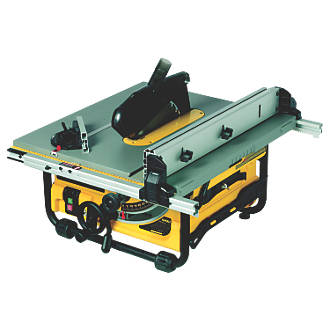 Dewalt dw745 lx 250mm table saw 110v table saws screwfix greentooth Choice Image