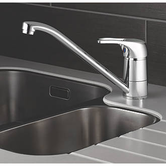 Swirl Loop Single Lever Mono Mixer Kitchen Tap Chrome Kitchen