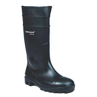 6f78591bbaf Dunlop Safety Protomastor 142PP Safety Wellingtons Black Size 13