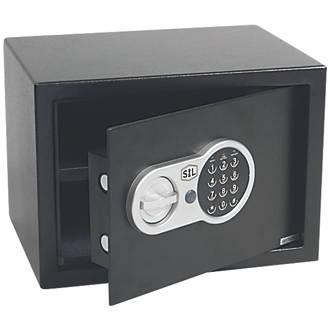 smith locke electronic safe 16ltr safes screwfix com
