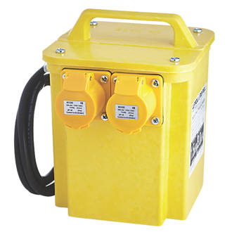 online retailer 41a86 a9afd Portable Transformer with 2 Output Sockets 3kVA (84144)
