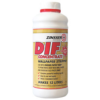 Zinsser DIF Wallpaper Stripper Concentrate 1Ltr (8421J)