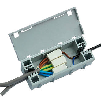 Cool Wagobox Light Junction Box Junction Boxes Screwfix Com Wiring Database Gramgelartorg