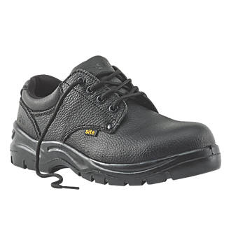 fe76922163 Site Coal Safety Shoes Black Size 9 (84584)