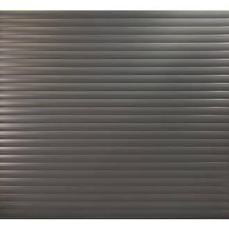 Gliderol 6 11 X 7 Insulated Aluminium Roller Garage Door Black