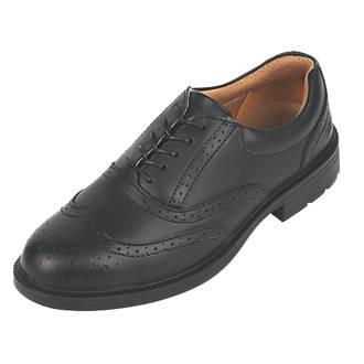 c5de19af0b0 City Knights Brogue Safety Shoes Black Size 11