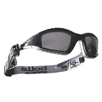 5c655a311ac3 Bolle Tracker Smoke Lens Goggles | Safety Glasses | Screwfix.com