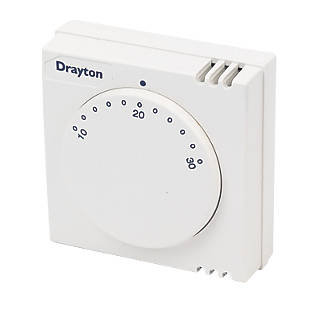 Fine Drayton Rts1 Room Thermostat Wired Thermostats Screwfix Com Wiring Digital Resources Remcakbiperorg