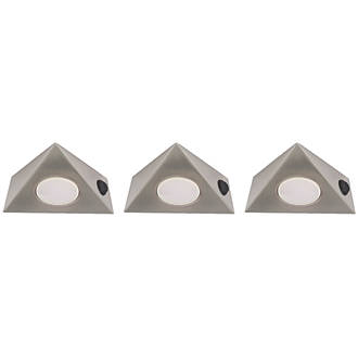 best sneakers 8f36a ac3ea LAP LED Triangular CCT Cabinet Downlight Variable White 15W 130mm 3 Pack