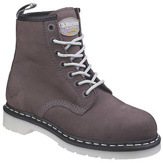 best suitable for men/women enjoy clearance price Dr Martens Maple Ladies Safety Boots Grey Size 5