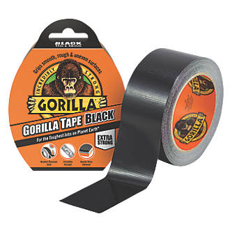Gorilla Glue Review >> Gorilla Glue Cloth Tape 48 Mesh Black 11m X 48mm