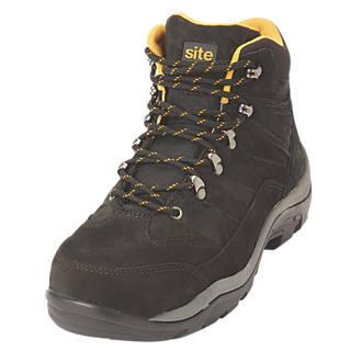 515bf0dc9b6 Site Ammolite Safety Boots Black Size 10