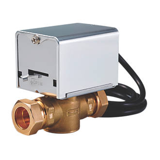 flomasta 27900sx 2-port motorised valve 22mm (8982g)