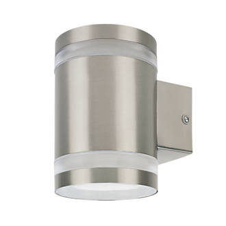 Ranex sonya stainless steel outdoor led wall light 300lm 5w led ranex sonya stainless steel outdoor led wall light 300lm 5w led garden lights screwfix aloadofball Image collections