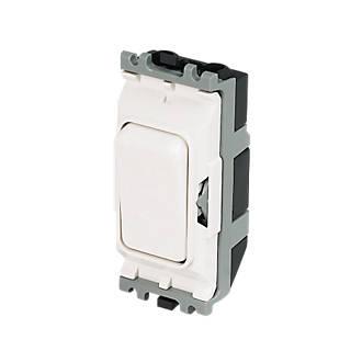 Mk 20a Intermediate Grid Switch White Grid Wiring Screwfix Com