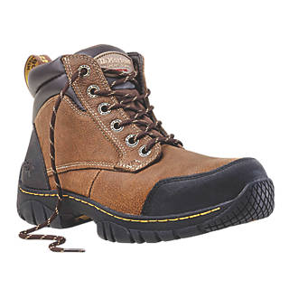 Dr Martens Riverton Safety Boots Brown Size 7 (9237P) 8ee0e0af8