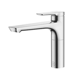 Watersmith Heritage Mezzo Single Lever Mono Mixer Kitchen Tap Chrome