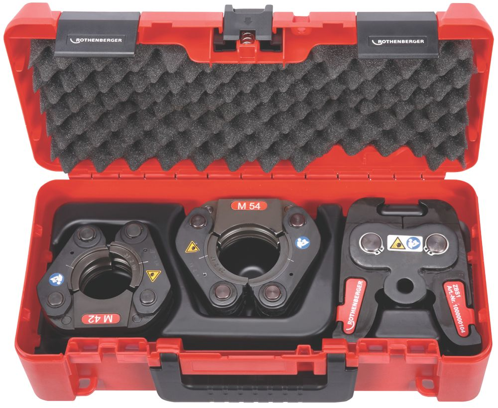 Rothenberger 1000001501 Press Fitting Chains Collar Set Actuator Pipe Connection Tools Screwfix Com