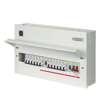 wylex 21-module 12-way populated high integrity dual rcd consumer unit |  domestic consumer units | screwfix com