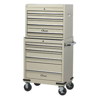 Hilka Pro Craft 8 Drawer Classic Tool Chest Trolley