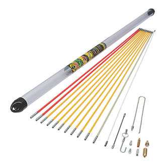 MightyRod PRO Cable Rod Super Set 12m 22 Pieces
