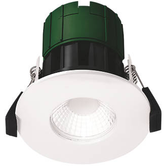official photos 32c77 dddaf Luceco FType EFT60W Colour Change Fixed Fire Rated LED Downlight White  600lm 6W 220-240V