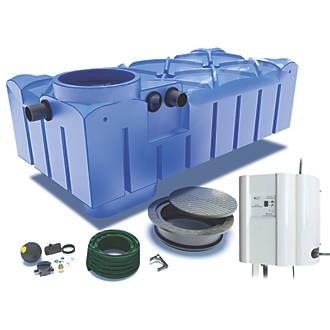 Floplast Rainwater Harvesting System 3000ltr Rainwater Harvesting Screwfix Com