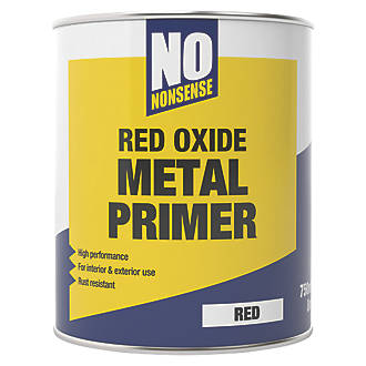 No Nonsense Red Oxide Metal Primer & Undercoat 750ml