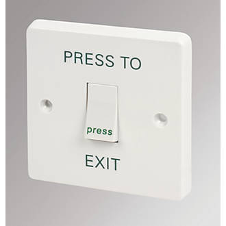 Cool Crabtree 1 Gang 10A 2 Way Press To Exit Retractive Switch White Wiring 101 Tzicihahutechinfo