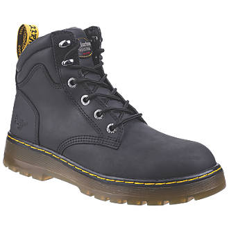 excellent quality discount sale best cheap Dr Martens Brace Safety Boots Black Size 12
