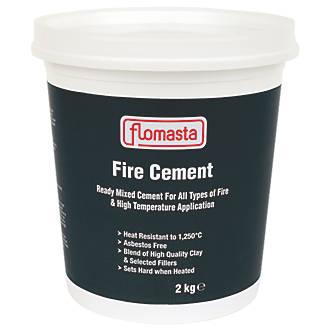Flomasta Fire Cement 2kg Sealers Compounds Screwfixcom