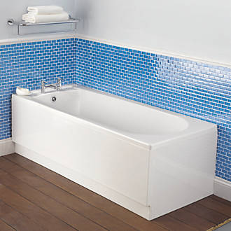 Bath Front Panel Acrylic 1700mm White
