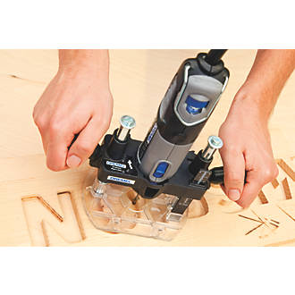 Dremel plunge router attachment 206mm rotary tool accessories 360 view keyboard keysfo Image collections