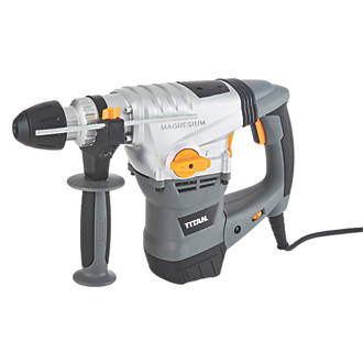 an TTB278SDS 6.3kg Electric SDS Plus Drill & 9 Piece Accessory Kit on