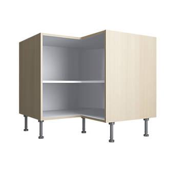 Oak Kitchen L Corner Base Cabinet 925 X 925 X 880mm