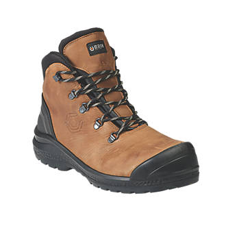 39134ba5d89 BASE Be-Strong Top B888 Safety Boots Mid Tan / Black Size 8
