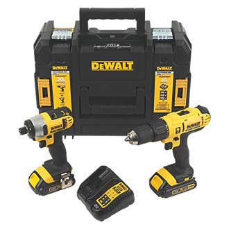 Dewalt Dcz298s2t Gb 18v 1 5ah Li Ion Xr Cordless Combi Drill Impact Driver Twin Pack 9801t