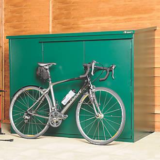 2fc23a5d5c8 Asgard Addition All-Metal Bike Store Green 1.8 x 0.9m | Bike Shed ...