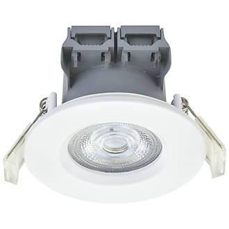 Sensational Lap Fixed Led Downlight White 370Lm 4W 220 240V Non Fire Rated Wiring Cloud Pendufoxcilixyz