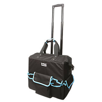 Mac Allister Hard Base Tool Bag With Wheels 18 Bags Fix