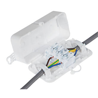 Prime Debox 2Sl Screwless In Line Junction Box Junction Boxes Screwfix Com Wiring Digital Resources Dylitashwinbiharinl