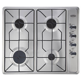 Belling 444449465 Gas Hob Stainless Steel 40 X 580mm