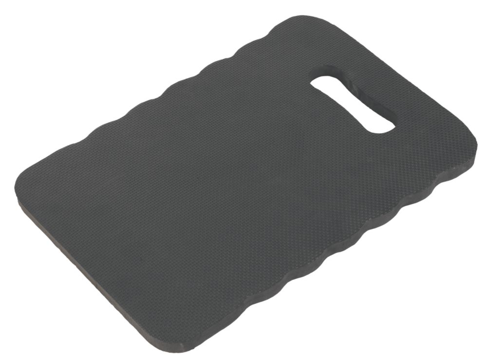 Memory Foam Support Kneeling Mat Black Kneel Mat Screwfix Com