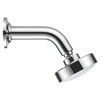 EUB New Bath Shower Arm Extension Bar for Shower Head -Stainless Steel Round
