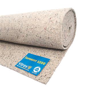 Vitrex Superfit 1500 Luxury Carpet Underlay 10m² (9878J)