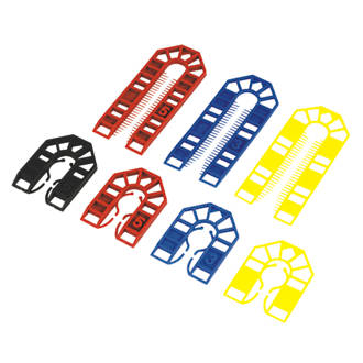 Broadfix Assorted Plastic Shims Medium 100 Pcs