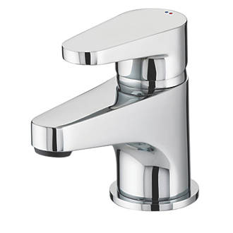 Bristan Quest Bathroom Basin Mono Mixer Tap with Click Waste | Basin Taps | Screwfix.com